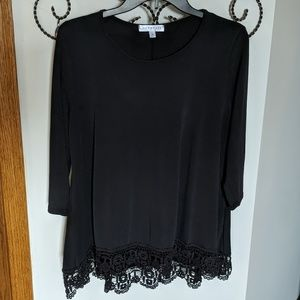 DownEast Black Top (M)